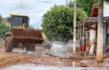 Câmara aprova crédito especial para recuperar o município após a grave enchente de dezembro