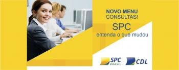 Reorganização do menu de Consultas SPC Brasil