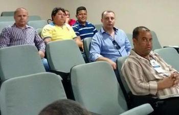 Vereadores participam de reunião do Comitê da Bacia Hidrográfica do rio Doce