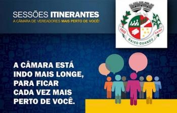 Sessão itinerante em Vila Nova do Bananal