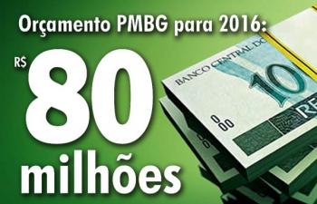 Câmara aprova orçamento de R$ 80 milhões para 2016