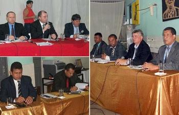 Moradores de Vila Nova do Bananal prestigiam sessão itinerante