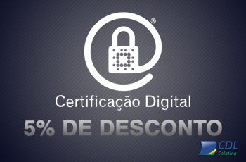 Certificado Digital A3 com 5% de desconto!