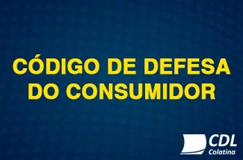 Alerta referente ao Código de Defesa do Consumidor