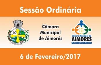 Câmara de Aimorés realiza primeira sessão ordinária de 2017
