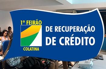 Reunião: 1º Feirão de Recuperação de Crédito de Colatina