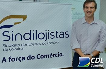 Diretor financeiro da CDL Colatina assume presidência do Sindilojistas da cidade